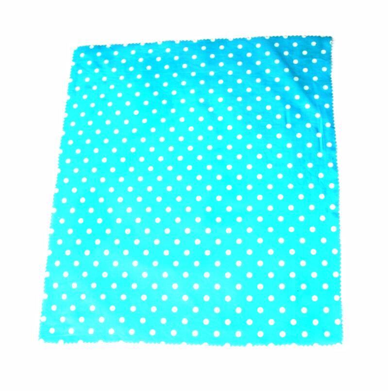 Bijenwaswrap Blue White Dots