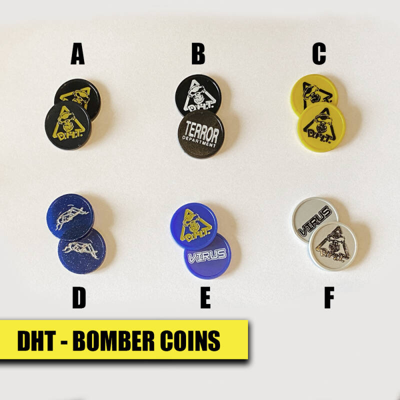 DHT Bomber Coins