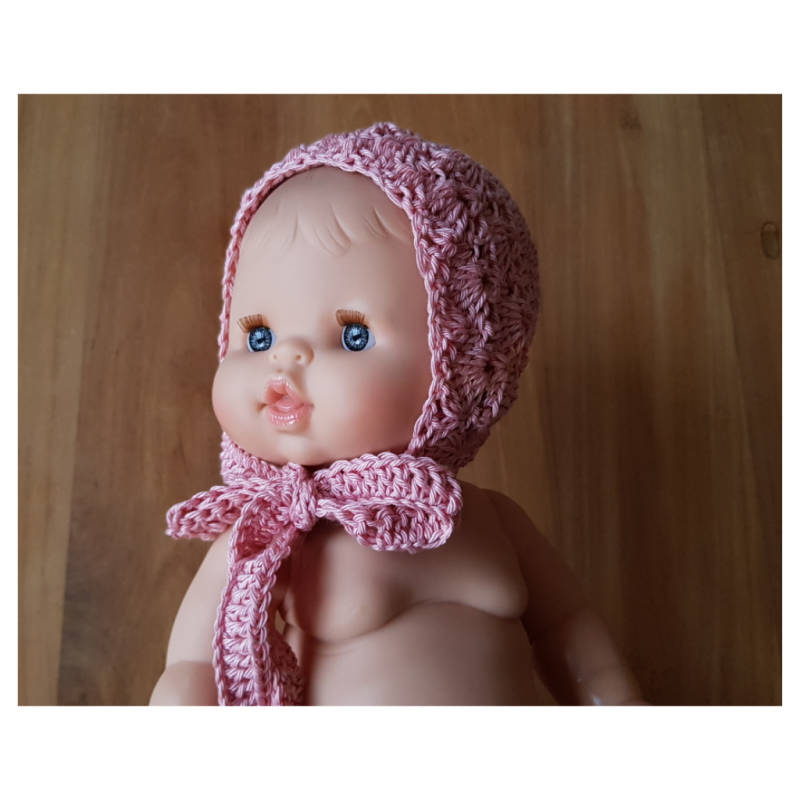 Lace Bonnet Old Rose