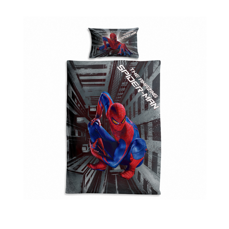 Spiderman Collectie, Beddengoed, Met Kussensloop