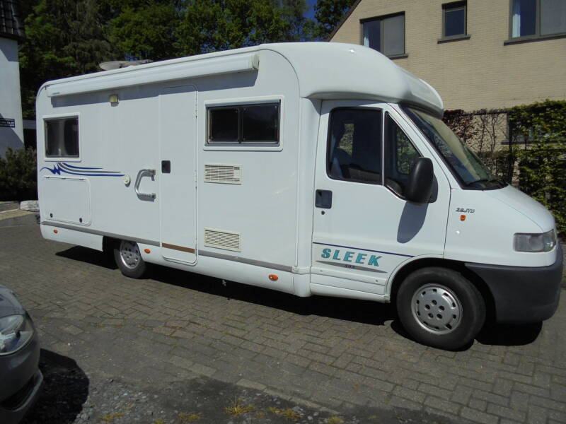 Mobilhome Elnagh Sleek 595, Fiat Ducato 2.8TD, 9/2001,4 pers /IN OPTIE/