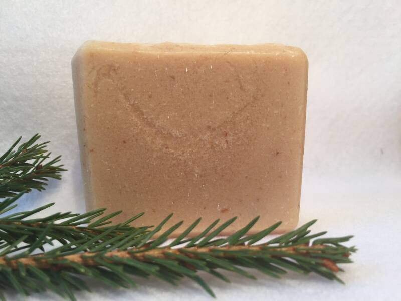Goat milk with oat meal & honey soap