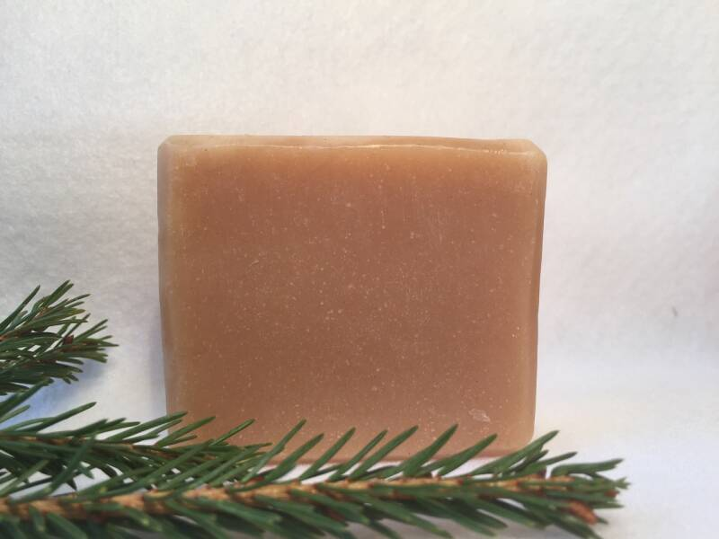 Goat milk & pink clay soap