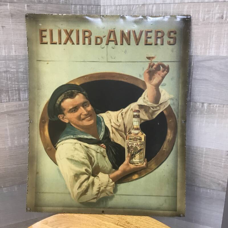 Metalen plaat Elixir de Anvers