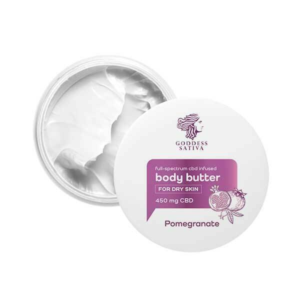 Body Butter for Dry Skin Pomegranate 450 mg