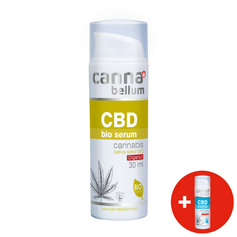CBD Bio serum 30 ml + CBD Cleansing gel 50 ml FOR FREE