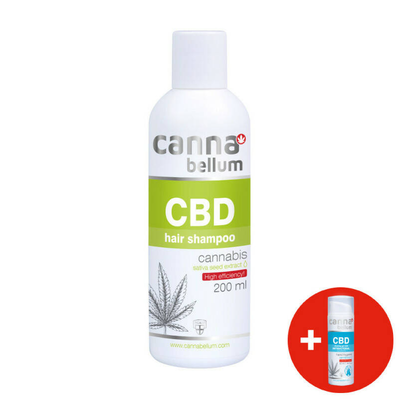 CBD Champu 200 ml + CBD Gel de limpieza 50 ml GRATIS