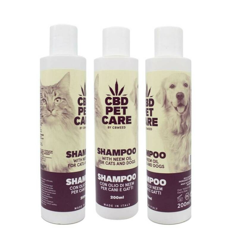 Shampoo with Nim Oil for Cats and Dogs 200ml -