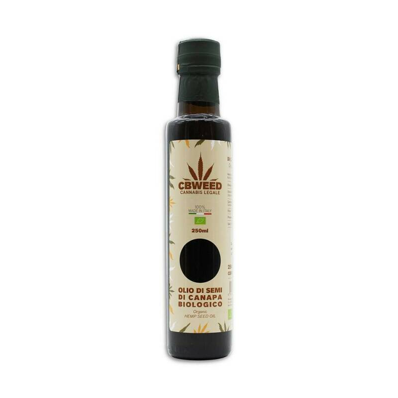 Organic hemp seed oil 250 ml