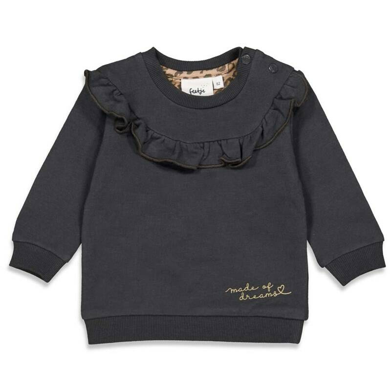 Feetje - Made of Dreams - Sweater Antraciet