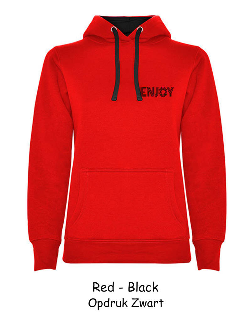 Urban Women Hooded Sweatshirt ENJOY
