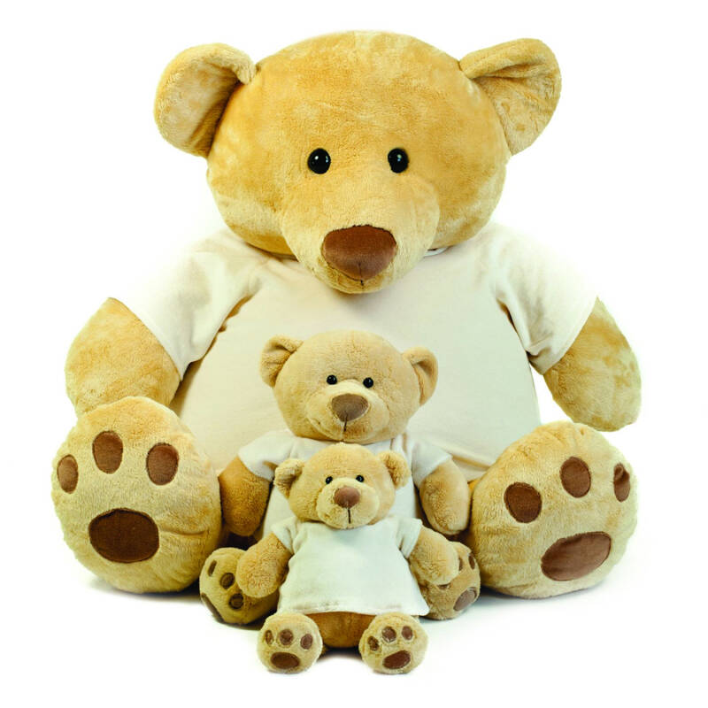 Honey Bear in afmetingen 28, 38 en 86 cm