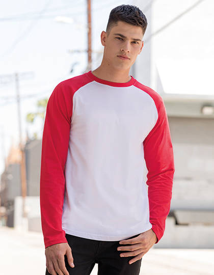 Men Long Sleeved Baseball T