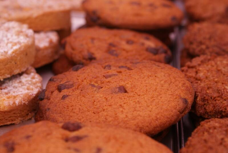 American cookie 'Chocolade'