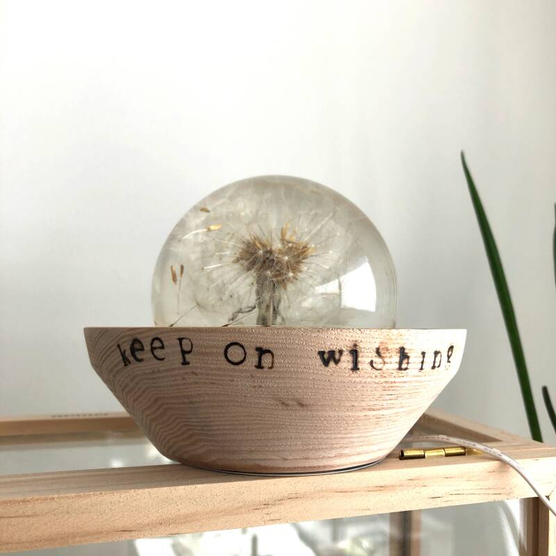keep on wishing Led- light dandelion
