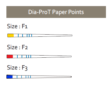 220751 DIADENT PAPERPOINTS VOOR DIA-X D4 / PT F2 ROOD (100st)