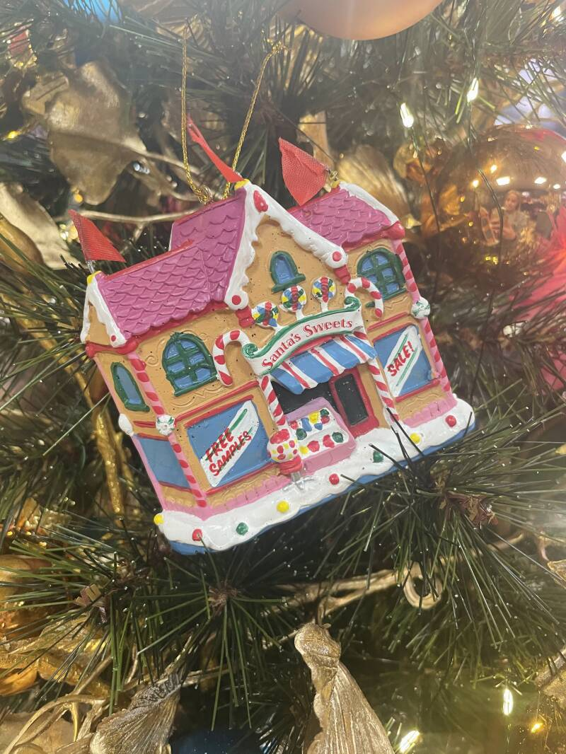 Kerstbal Candy House