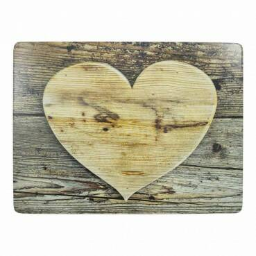 Placemats hart hout.