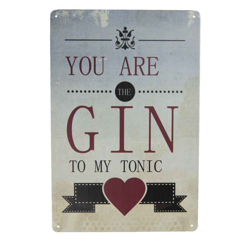 You are Gin……..