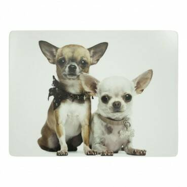 Luxe Placemats chihuahua 4*