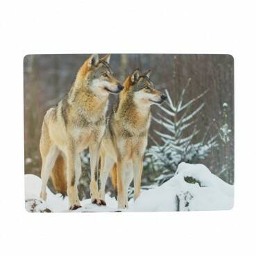 Luxe placemats Wolven