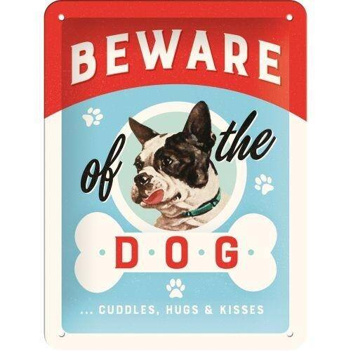 Reliëf Beware of the Dog.