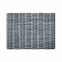 Luxe Placemats rotan grijs 4*