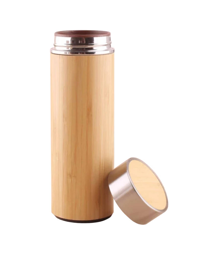 YOURS houtlook thermos drinkfles
