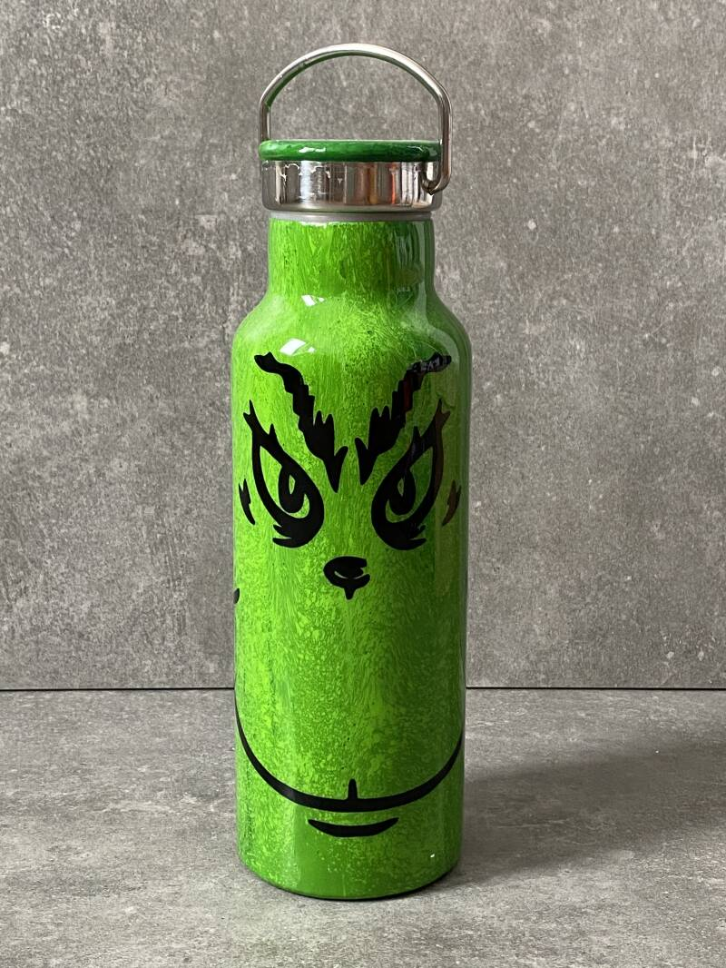 YOURS 'Grinch face' thermos drinkfles