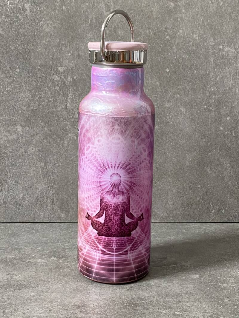 YOURS 'If you can't go outside, go inside' meditatie thermos drinkfles