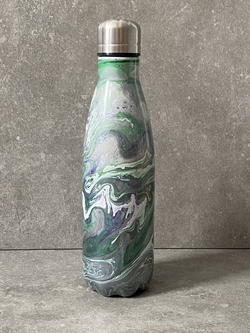 YOURS thermos petfles 'Cosmic bling swirl'