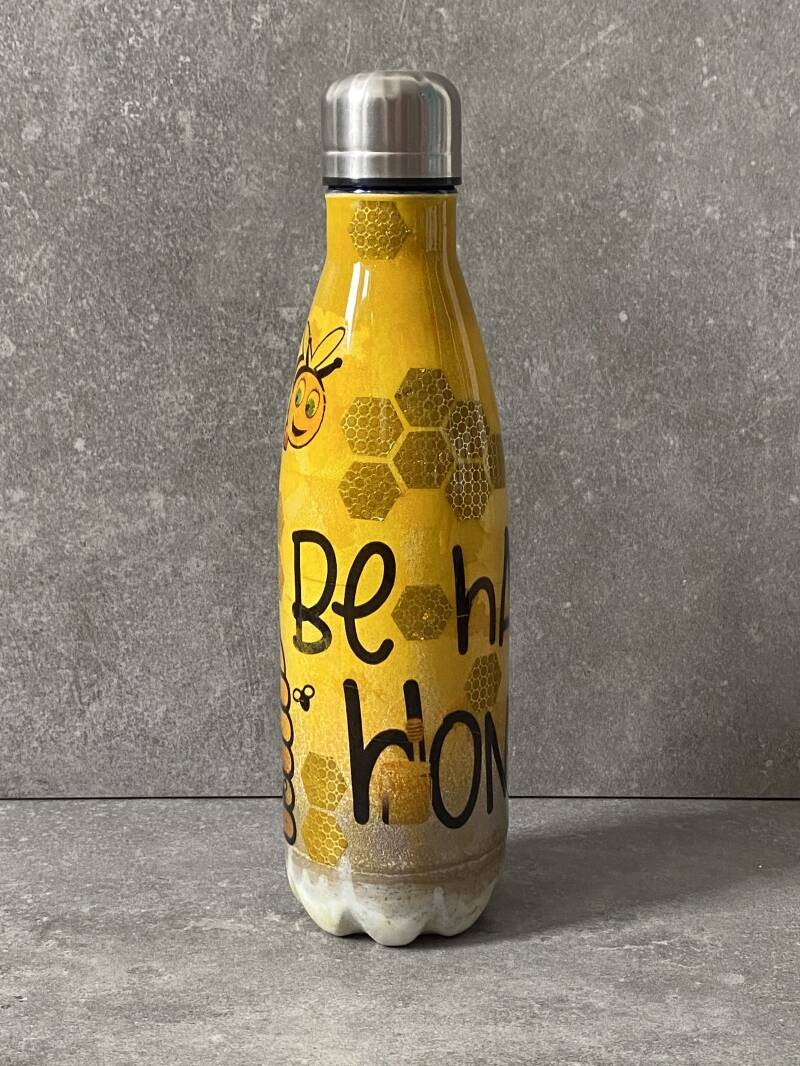 Be happy honey thermos petfles