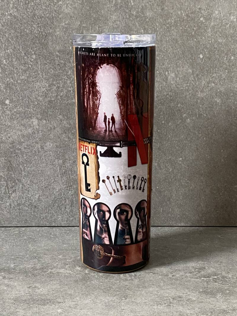 YOURS Netflix Locke & Key thermos drinkbeker met deksel