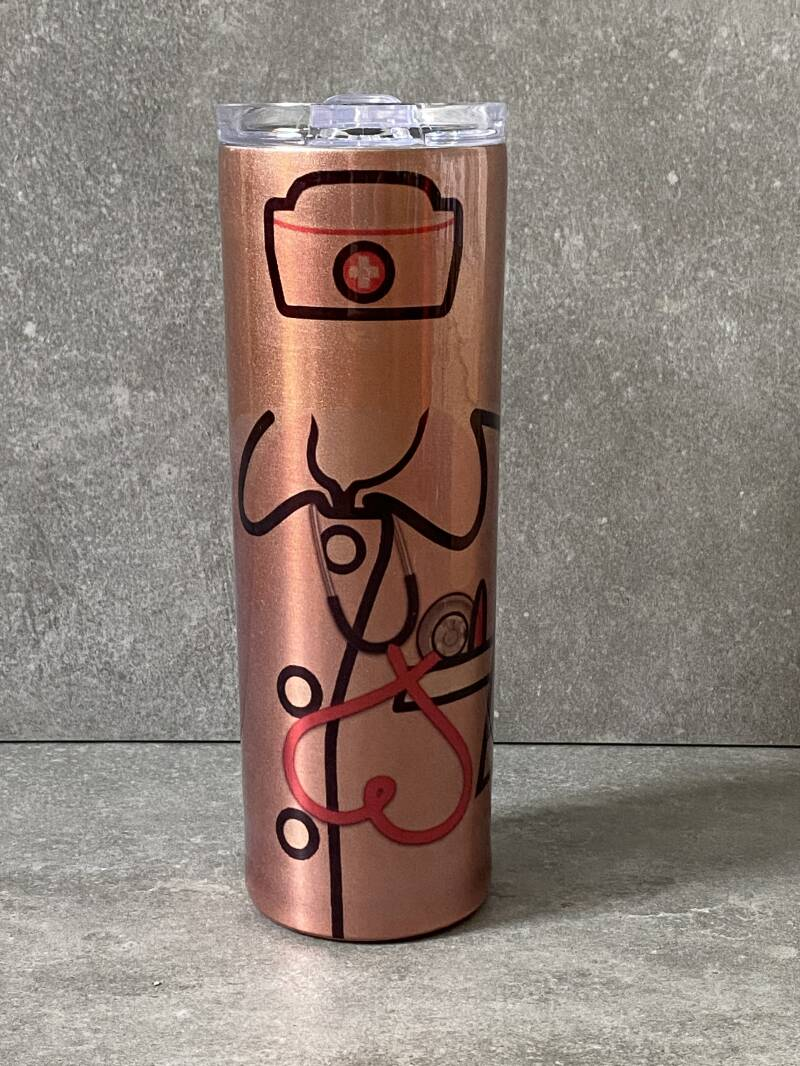 YOURS 'nurse love' thermos drinkbeker met deksel