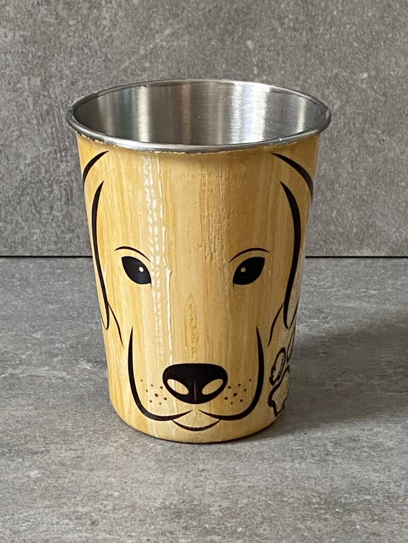 YOURS golden retriever / labrador drinkbeker