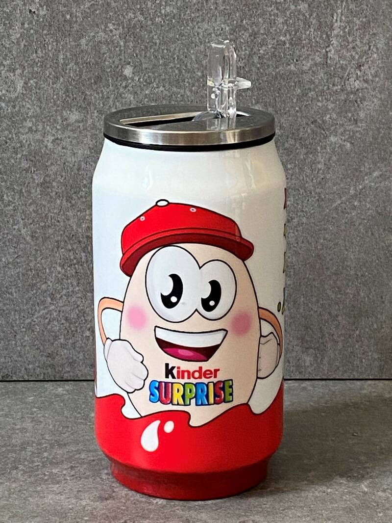 YOURS Kinder Surprise ei thermos blikje/drinkbeker