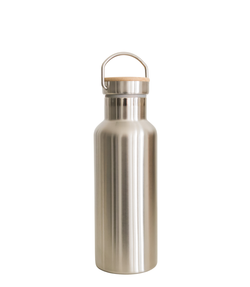Thermos drinkfles (dubbelwandig rvs)