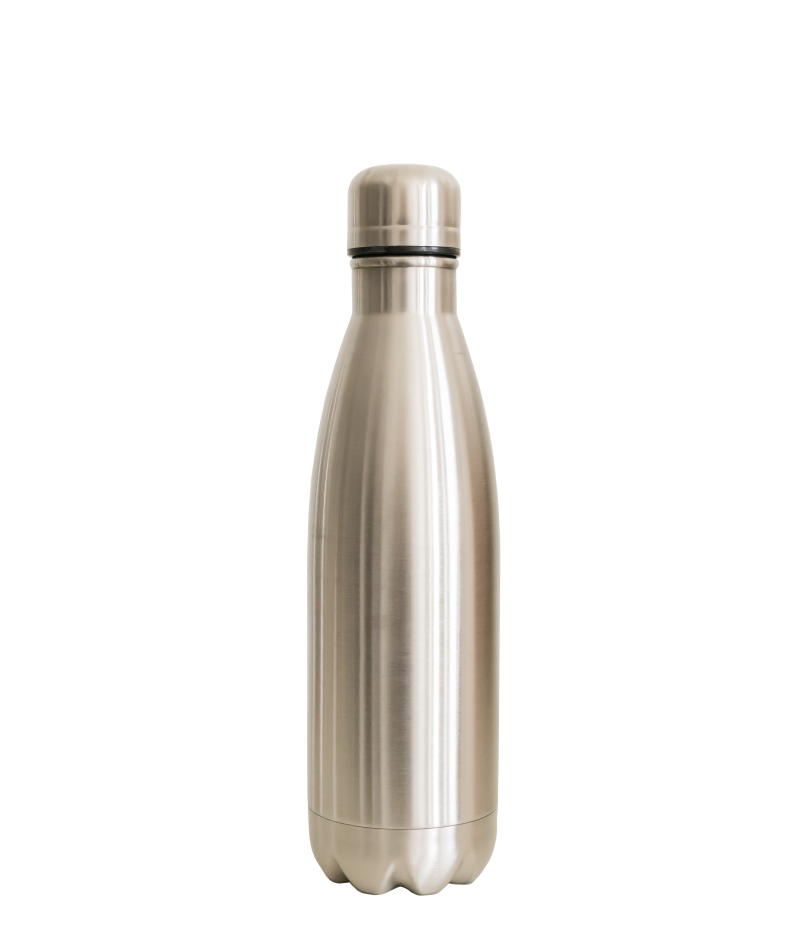 Thermos petfles (dubbelwandig rvs)