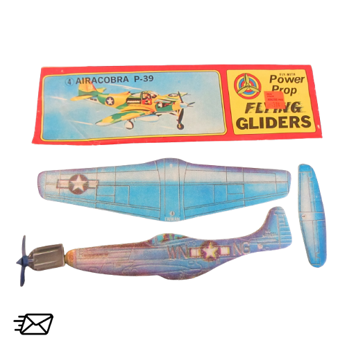 Power Prop Flying Gliders Airacibra P-39 Nr.4