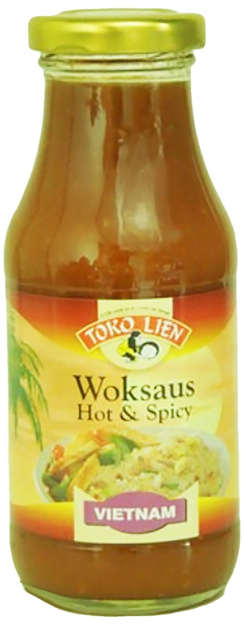Artnr.537 Vietnamese hot & spicy Woksaus 240ml Toko Lien