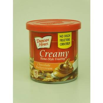Duncan Hines Creamy home-style frosting: chocolate buttercream 454 gram (artier.5015)