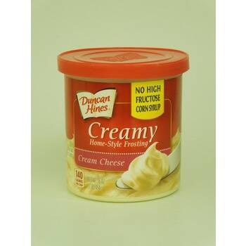 Duncan Hines Creamy home-style frosting: cream cheese 454 gram (artier.5014)