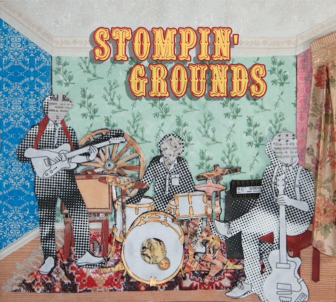 Stompin' Grounds EP (CD)
