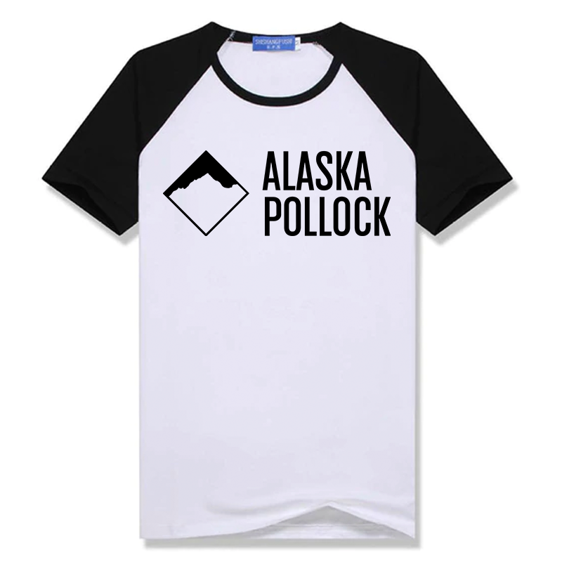 ALASKA POLLOCK T-SHIRT WHITE/BLACK