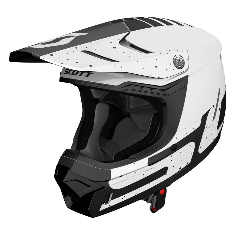 Scott 350 helm white black