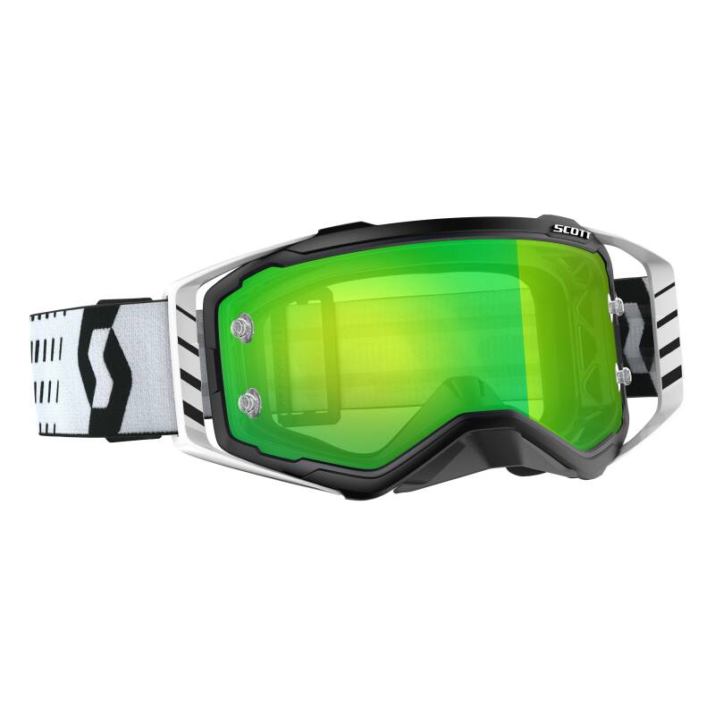 Scott prospect 2019 black white chrome lens