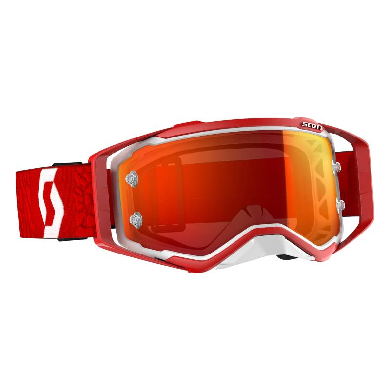 Scott prospect 2019 white red chrome lens