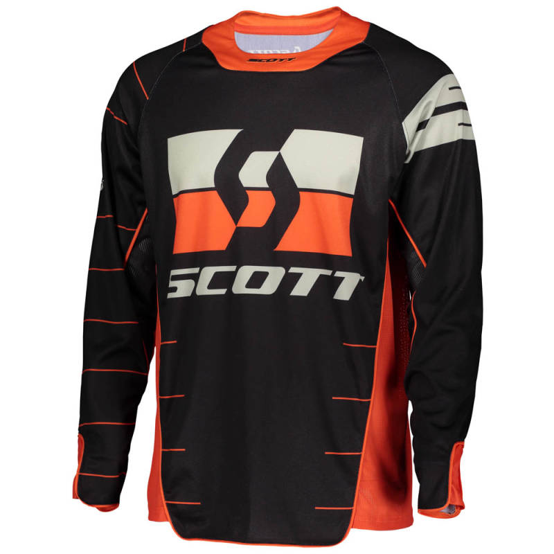 Scott Enduro Shirt 2020 Zwart/Oranje