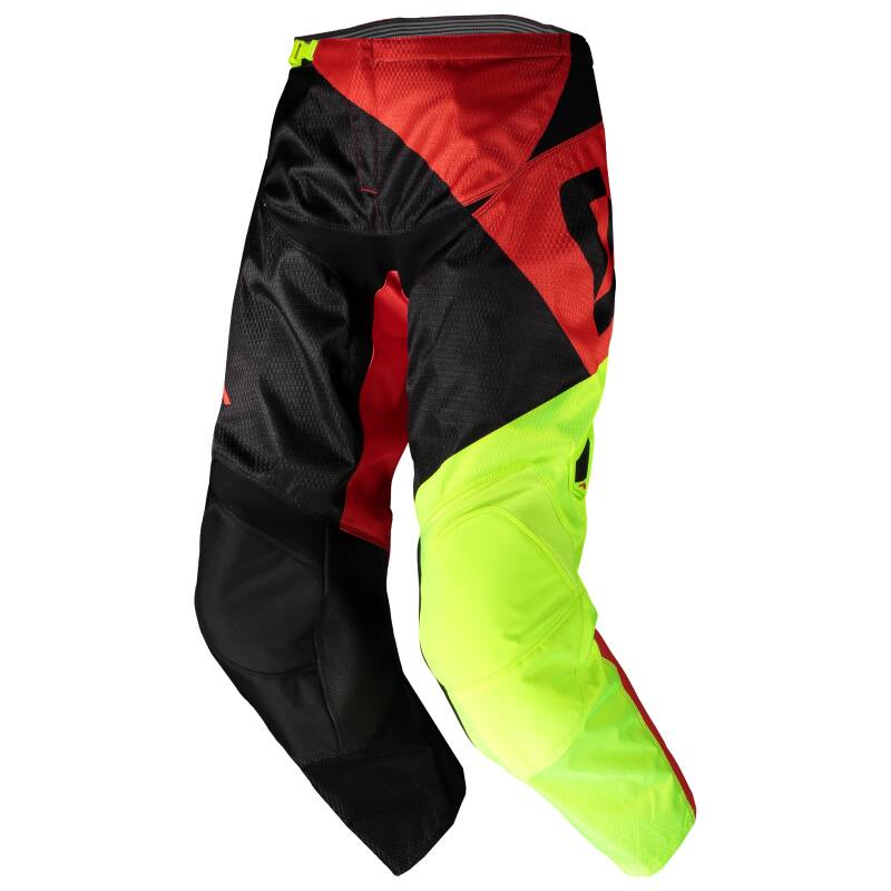 Scott 350 broek black red