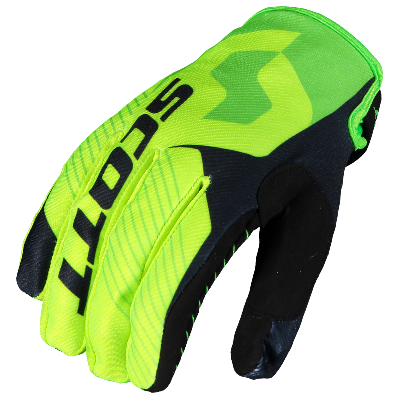 Scott 350 handschoen black yellow